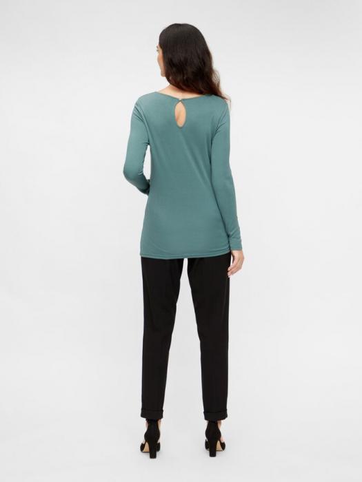 pantaloni-office-gravide-mamalicious-cerise 2