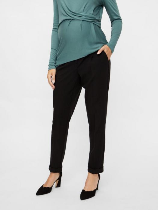 pantaloni-office-gravide-mamalicious-cerise 0