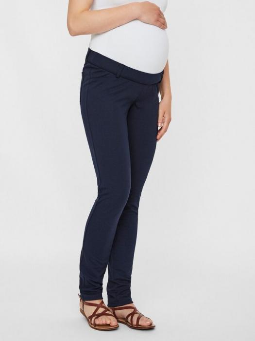 Pantaloni pentru gravide Mamalicious Alba [1]