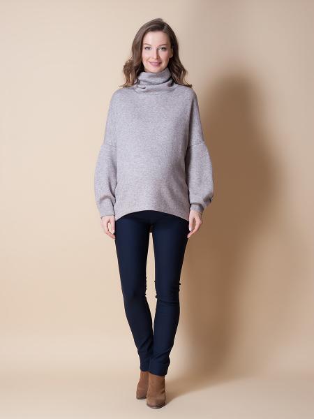 Pantaloni pentru gravide Mamalicious Alba 1