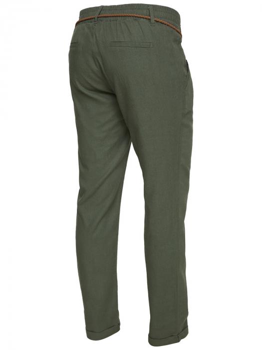 Pantaloni pentru gravide Mamalicious Beach din in - verde 5