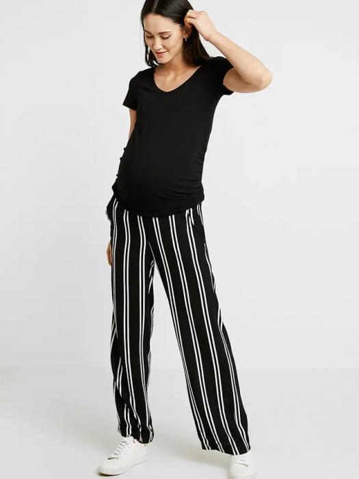 Pantaloni pentru gravide Mamalicious Ebony 0