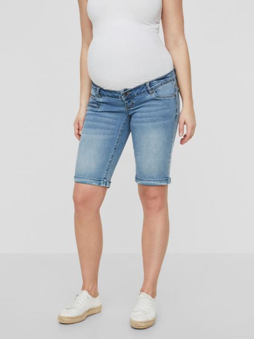 Pantaloni scurți de blugi pentru gravide Mamalicious Friday 2