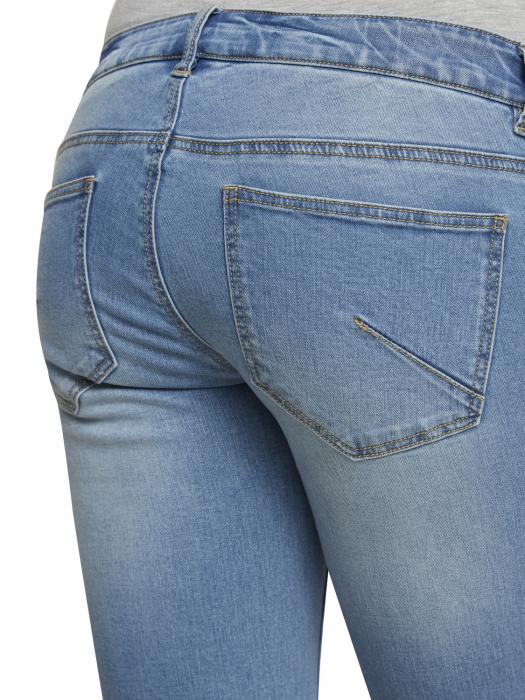 Pantaloni scurți de blugi pentru gravide Mamalicious Friday 5