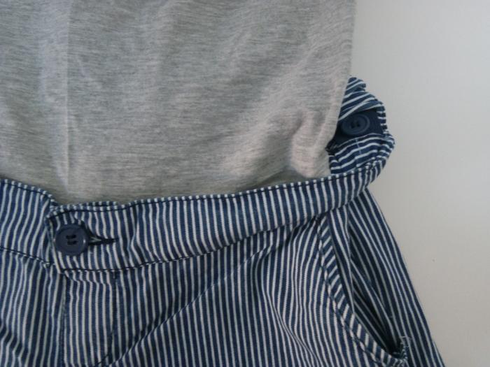 Pantaloni scurți gravide Mamalicious Daria 3