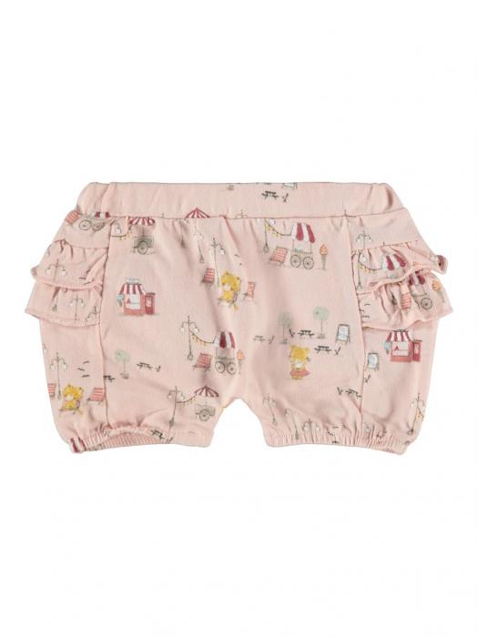 pantaloni-scurti-bebe-bumbac-organic-fete-name-it-bloomer-peach [0]