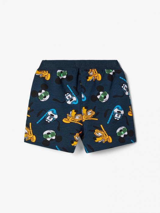 pantaloni-scurti-copii-bumbac-organic-baieti-name-it-mickey 1