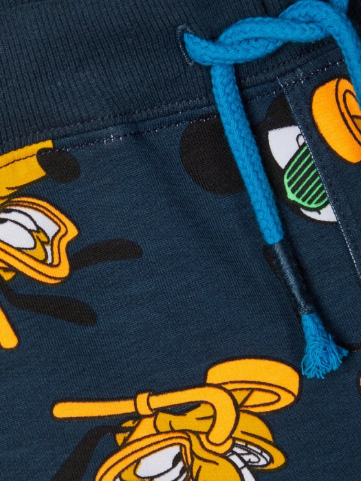 pantaloni-scurti-copii-bumbac-organic-baieti-name-it-mickey 3