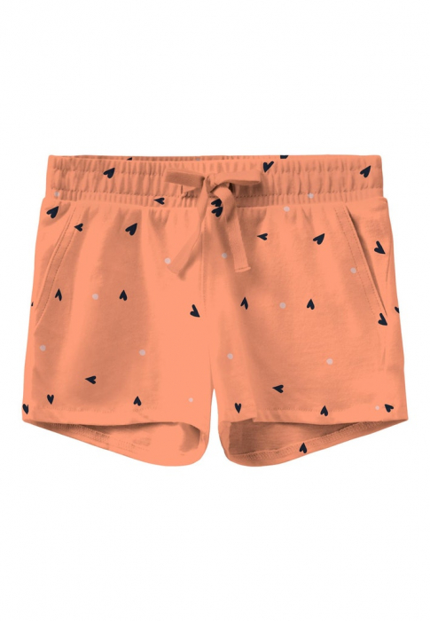 pantaloni-scurti-fetite-bumbac-organic-name-it-vigga-hearts 0