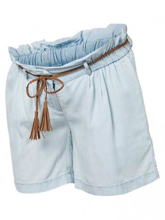 pantaloni-scurti-pentru-gravide-din-lyocell-mamalicious-adora 4