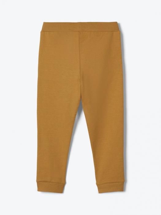 pantaloni-trening-copii-bumbac-organic-baieti-name-it-lanis-mustar 1