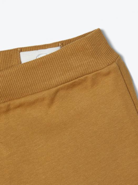 pantaloni-trening-copii-bumbac-organic-baieti-name-it-lanis-mustar 3