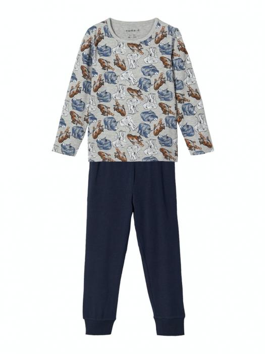 pijama-baieti-bumbac-organic-ani 0