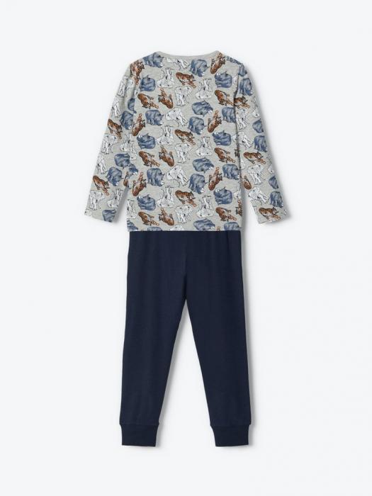 pijama-baieti-bumbac-organic-ani 5