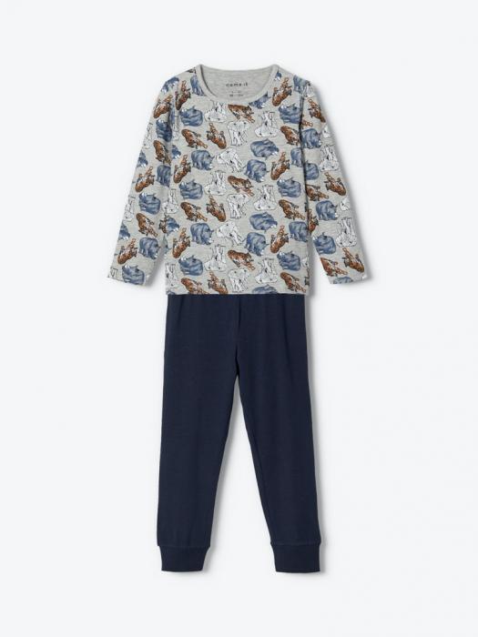 pijama-baieti-bumbac-organic-ani 1