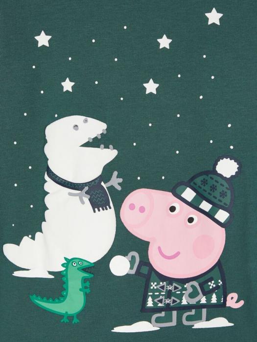 pijama-copii-bumbac-organic-baieti-name-it-peppa-pig 3