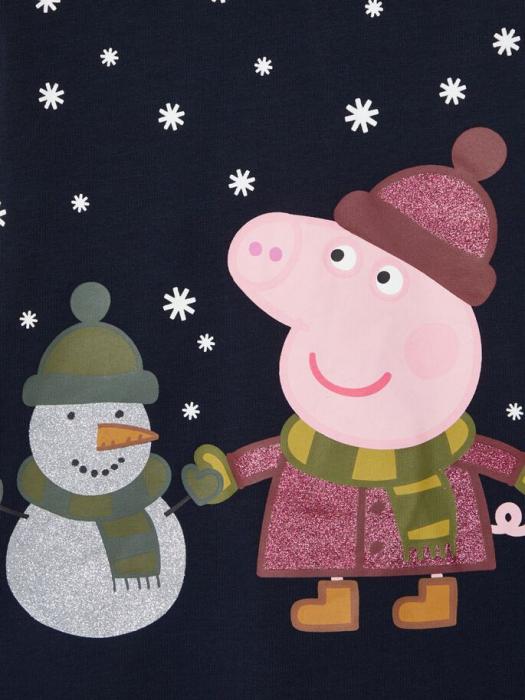 pijama-copii-bumbac-organic-fete-name-it-peppa-pig 3