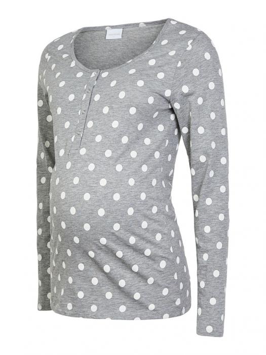 pijama-gravide-bluza-si-pantalon-bumbac-organic-mamalicious-rib 6