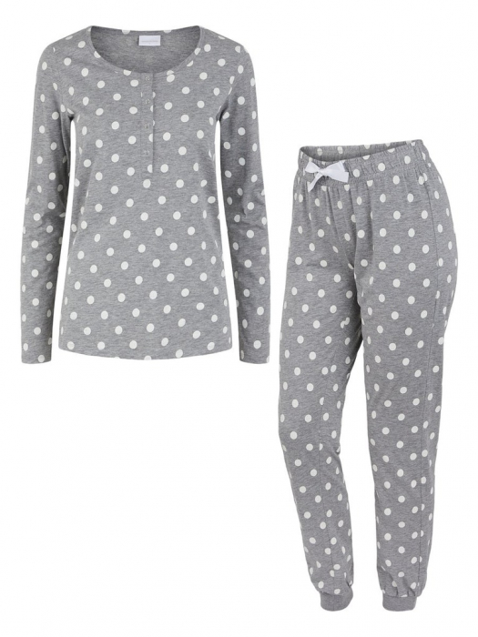 pijama-gravide-bluza-si-pantalon-bumbac-organic-mamalicious-rib 5