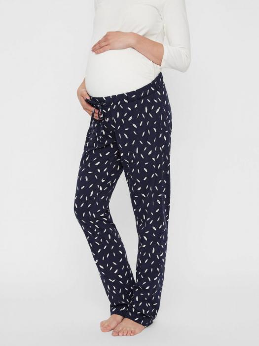 Pijama gravide si alaptare din bumbac organic Mamalicious Chill 7