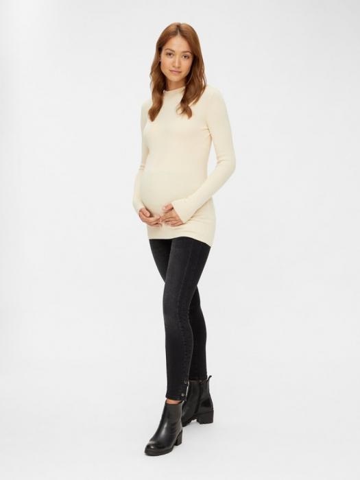 pulover-gravide-tricotaj-fin-mamalicious-jacina 1
