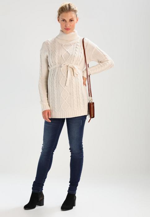 Pulover pentru gravide Mamalicious Cable-tricotat 1