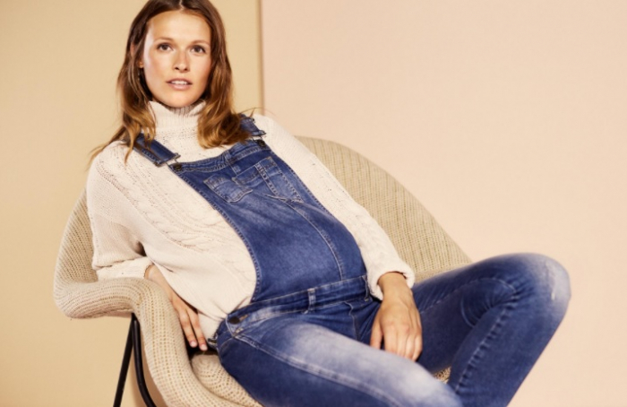 Pulover pentru gravide Mamalicious Cable-tricotat 5