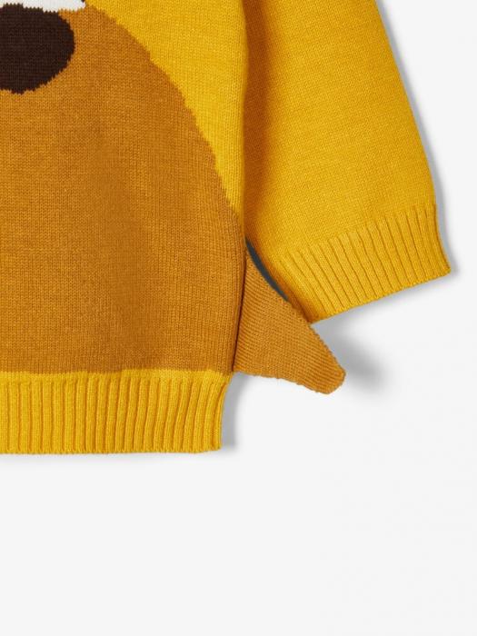 pulover-tricotat-bebelusi-bumbac-organic-baieti-name-it-nadimme 3
