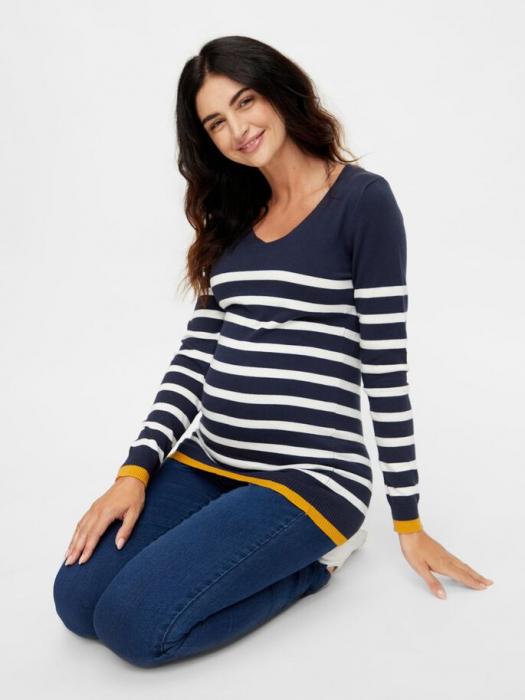 pulover-tricotat-pentru-gravide-mamalicious-kenna 4
