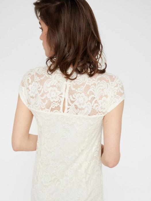 rochie-cu-maneca-scurta-pentru-cununie-mamalicious-snow-white 4
