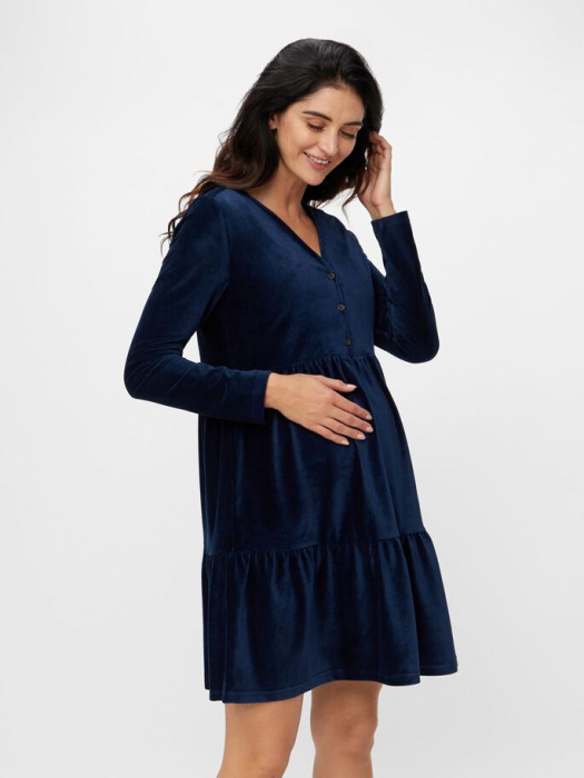 rochie-elaganta-gravide-si-alaptare-mamalicious-cordy 1