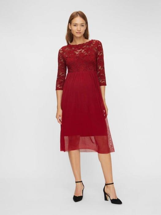 rochie-eleganta-gravide-mivana-midnight-cherry 1