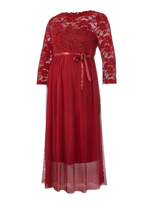 rochie-eleganta-gravide-mivana-midnight-cherry 5