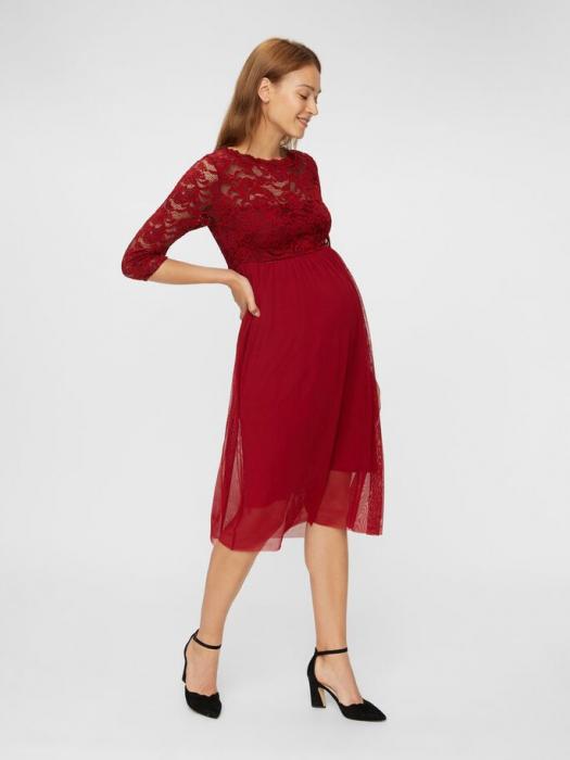 rochie-eleganta-gravide-mivana-midnight-cherry 0