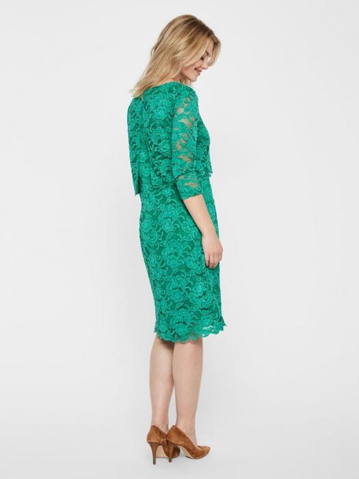 Rochie eleganta pentru alaptare Mamalicious June Smarald 3