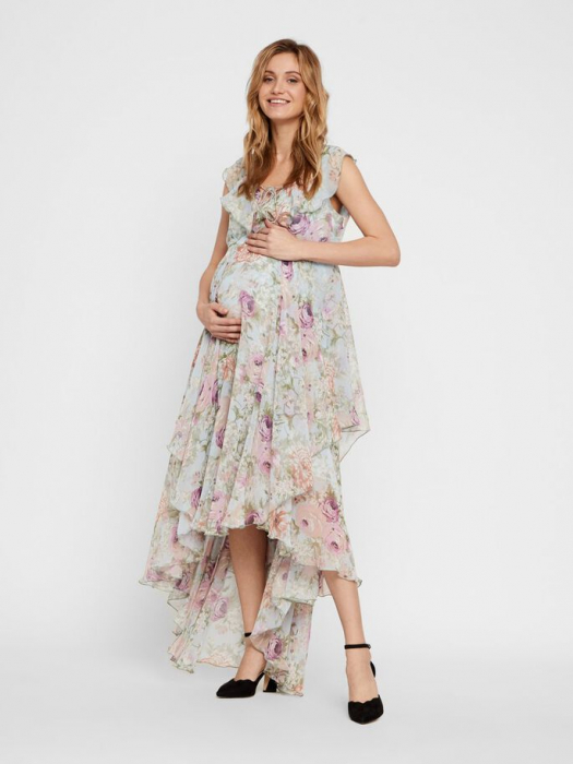 rochie-eleganta-pentru-gravide-mamalicious-begonia 4