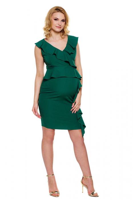 Rochie eleganta pentru gravide si alaptare Vivian 0