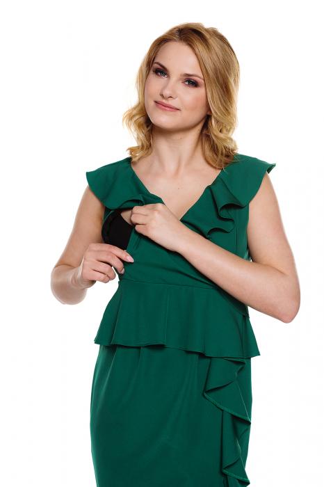 Rochie eleganta pentru gravide si alaptare Vivian 2