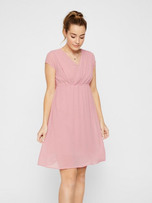 rochie-eleganta-pentru-gravide-si-alaptare-yolanda 0