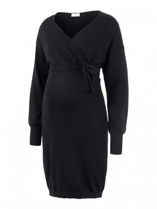 rochie-gravide-și-alăptare-tricotată-din-bumbac-organic-mamalicious-elva 5