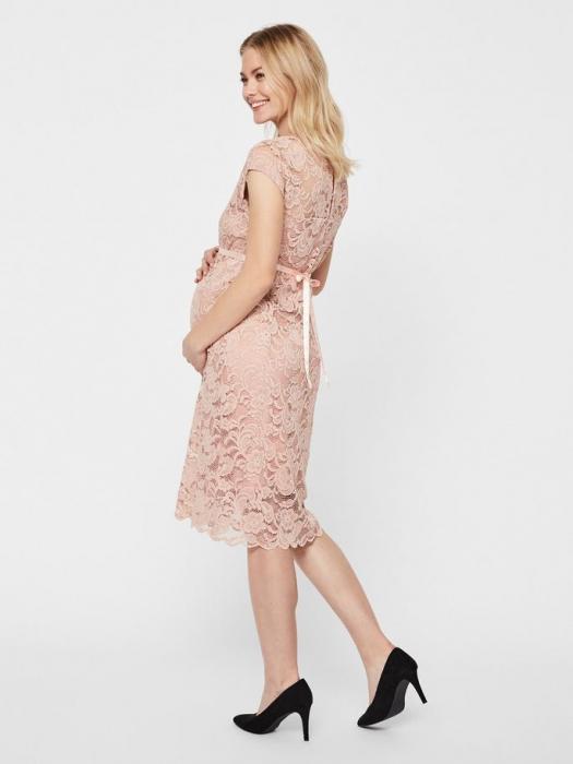 Rochie gravide cununie civila Mamalicious Mivana Rose 4