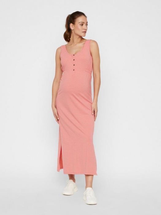 Rochie gravide si alaptare din bumbac organic Mamalicious Hanne 0