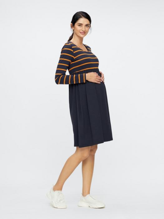 rochie-gravide-din-bumbac-organic-madelleine 0