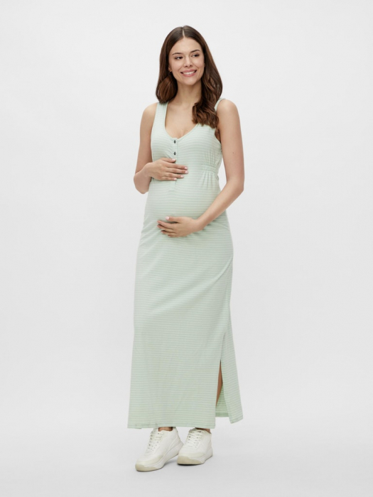 rochie-gravide-si-alaptare-bumbac-organic-mamalicious-hanne 0