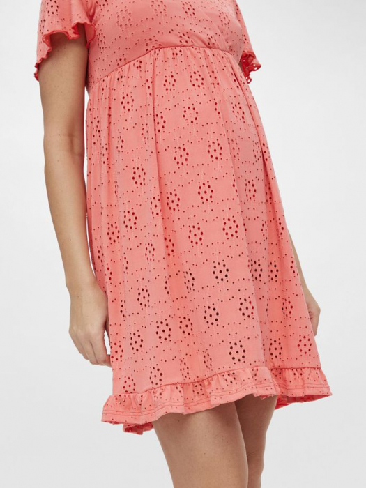 rochie-gravide-si-alaptare-mamalicious-denise-coral 4