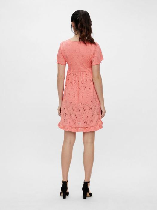 rochie-gravide-si-alaptare-mamalicious-denise-coral 3