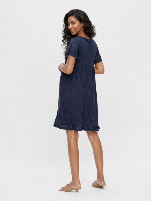 rochie-gravide-si-alaptare-mamalicious-denise-navy 2