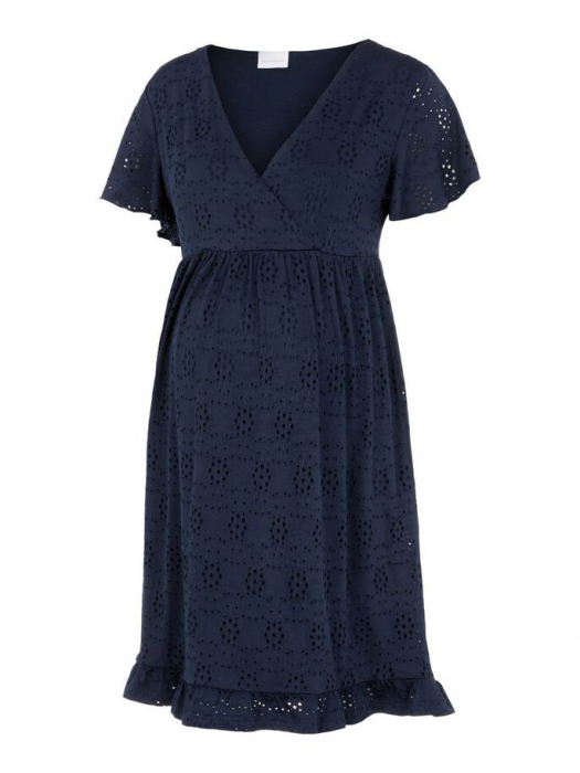 rochie-gravide-si-alaptare-mamalicious-denise-navy 5