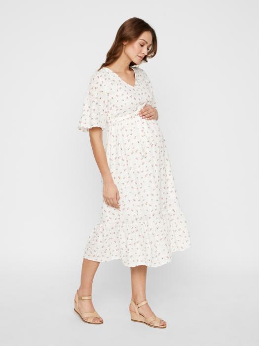 Rochie pentru gravide din bumbac Mamalicious Ditsy 0