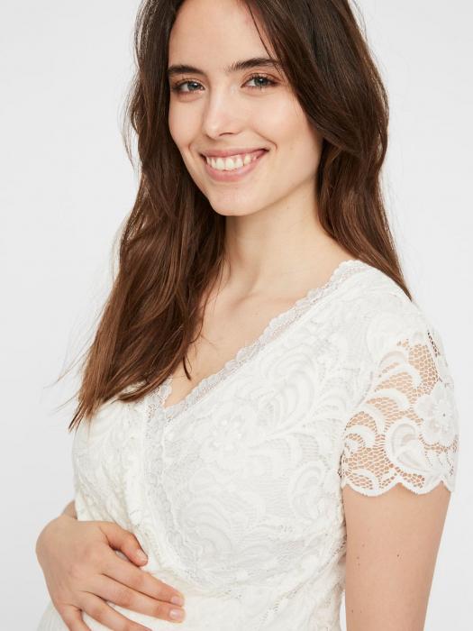 Rochie gravide si alaptare pentru cununia civila Mivana Crossover 2